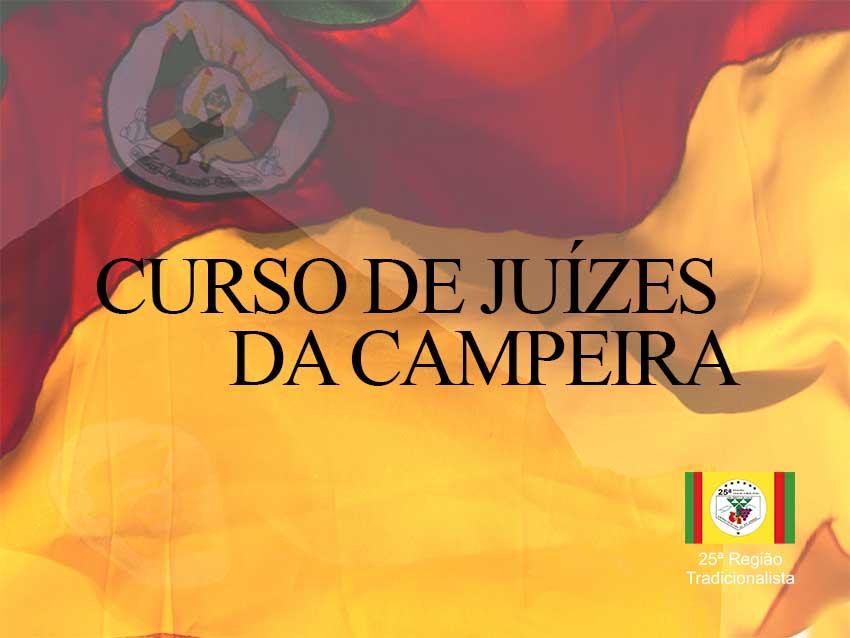 CURSO DE JUÍZES DA CAMPEIRA