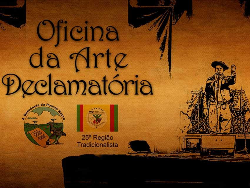 OFICINAS DA ARTE DECLAMATÓRIA