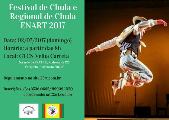Festival e Regional de Chula Enart