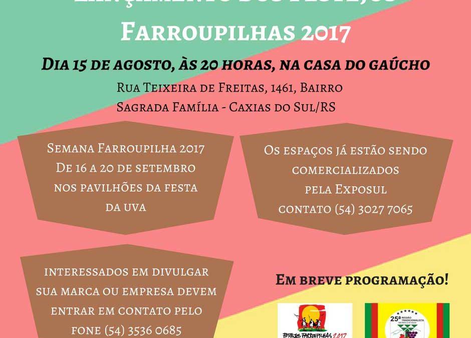 Lançamento dos Festejos Farroupilhas 2017