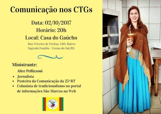Comunicação nos CTGs
