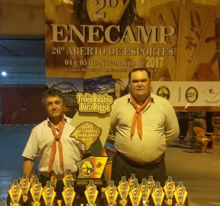 Representantes da 25ª RT trouxeram troféus do Enecamp e Aberto de Jogos